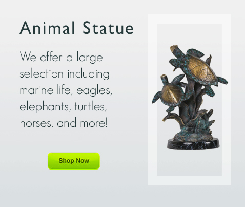 Various Animal Statue and Figurine