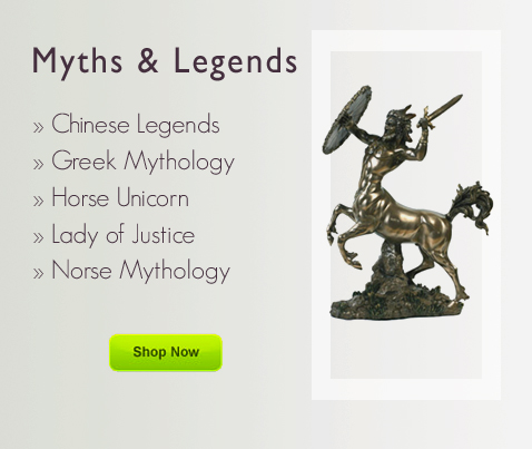 Chinese Legends, Greek Mythology at Desktopstatue.com