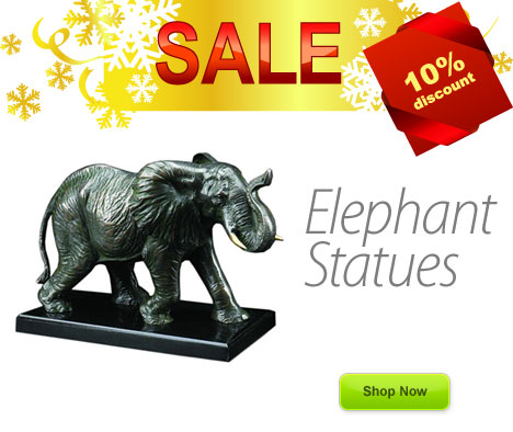 Elephant Statues on Sale