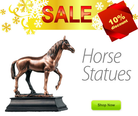 Horse Statues on Sale Now