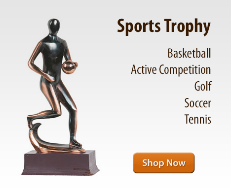 Sports trophy and award at Desktopstatue.com